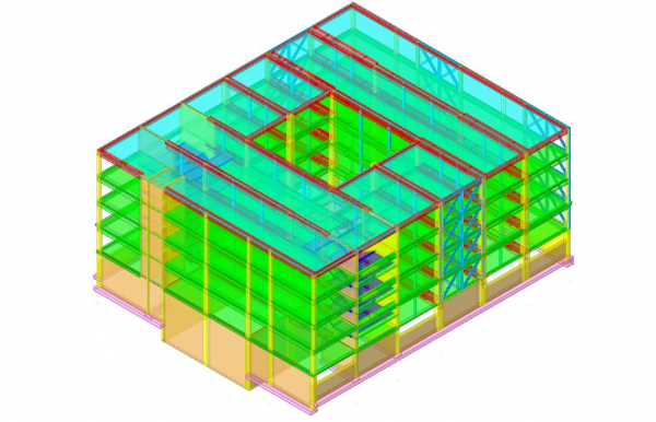consulting for seismic analysis of a school building (reinforced concrete structure)